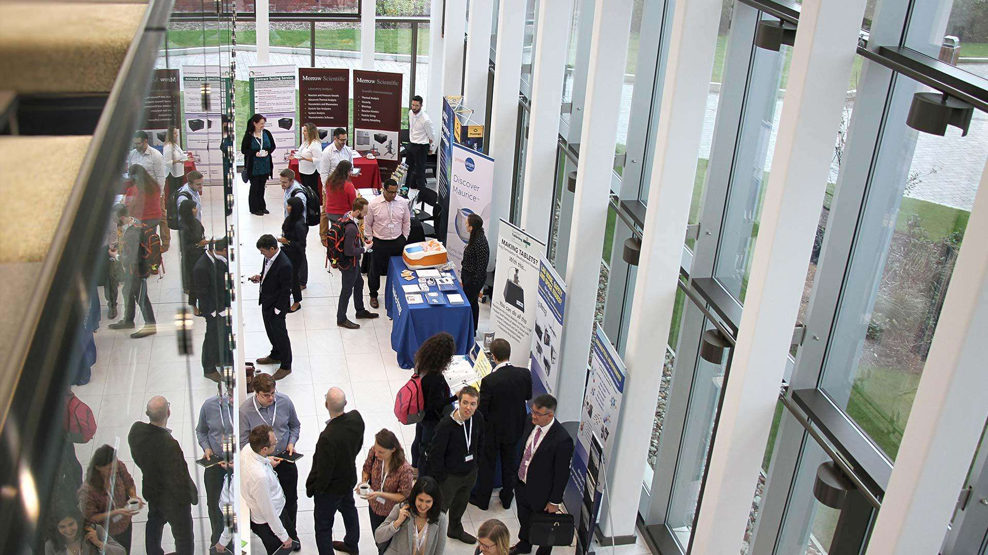 Delegates at the 4th Biopharmaceutical Analytical Group Symposium