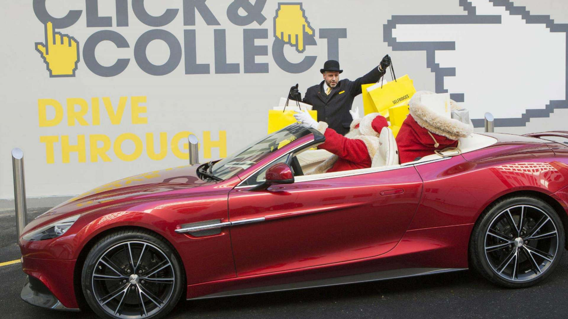 Selfridges launches world's first fashion and retail drive-through