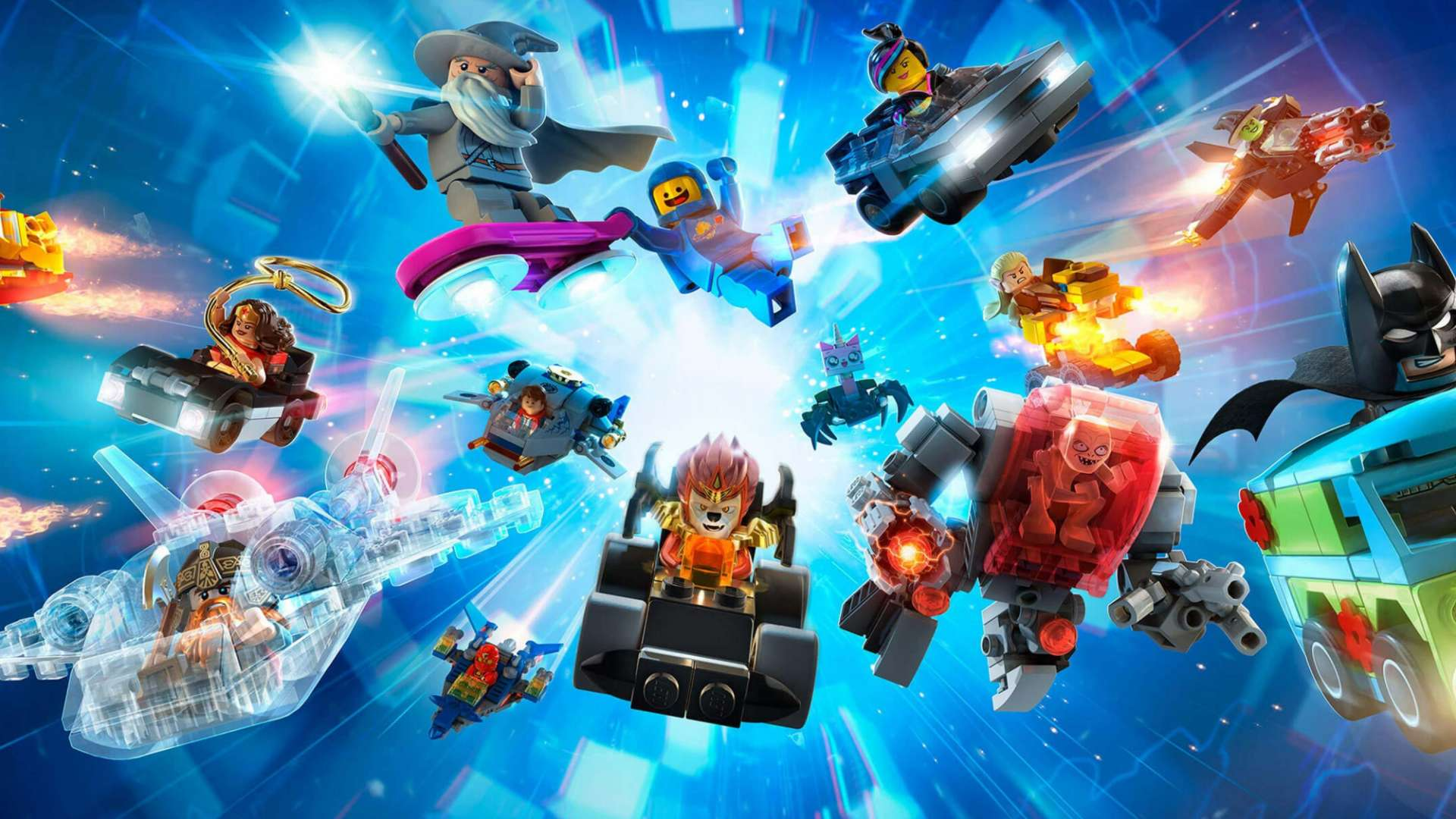 Lego Dimensions allows the players to unlock game levels using plastic characters