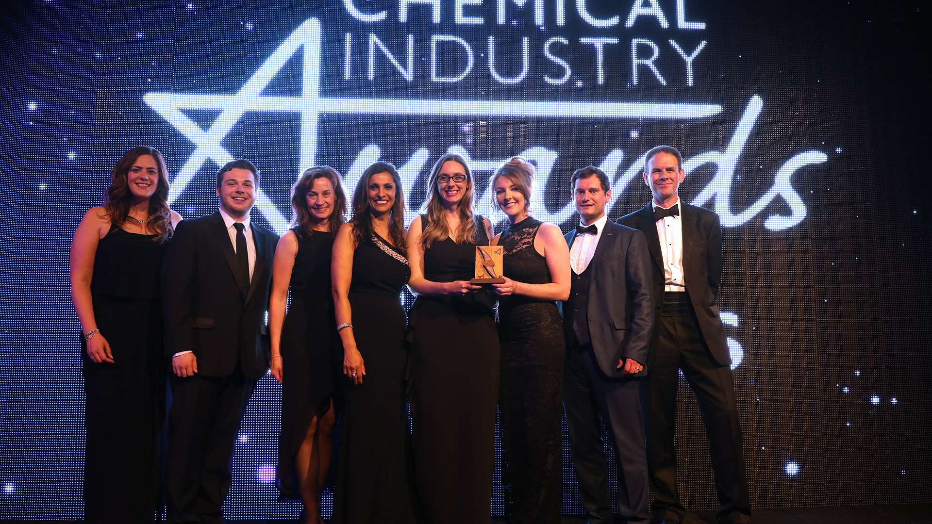 We were named Chemical Industry Service Provider of the Year at the Chemical Industries Association Awards, in Newcastle