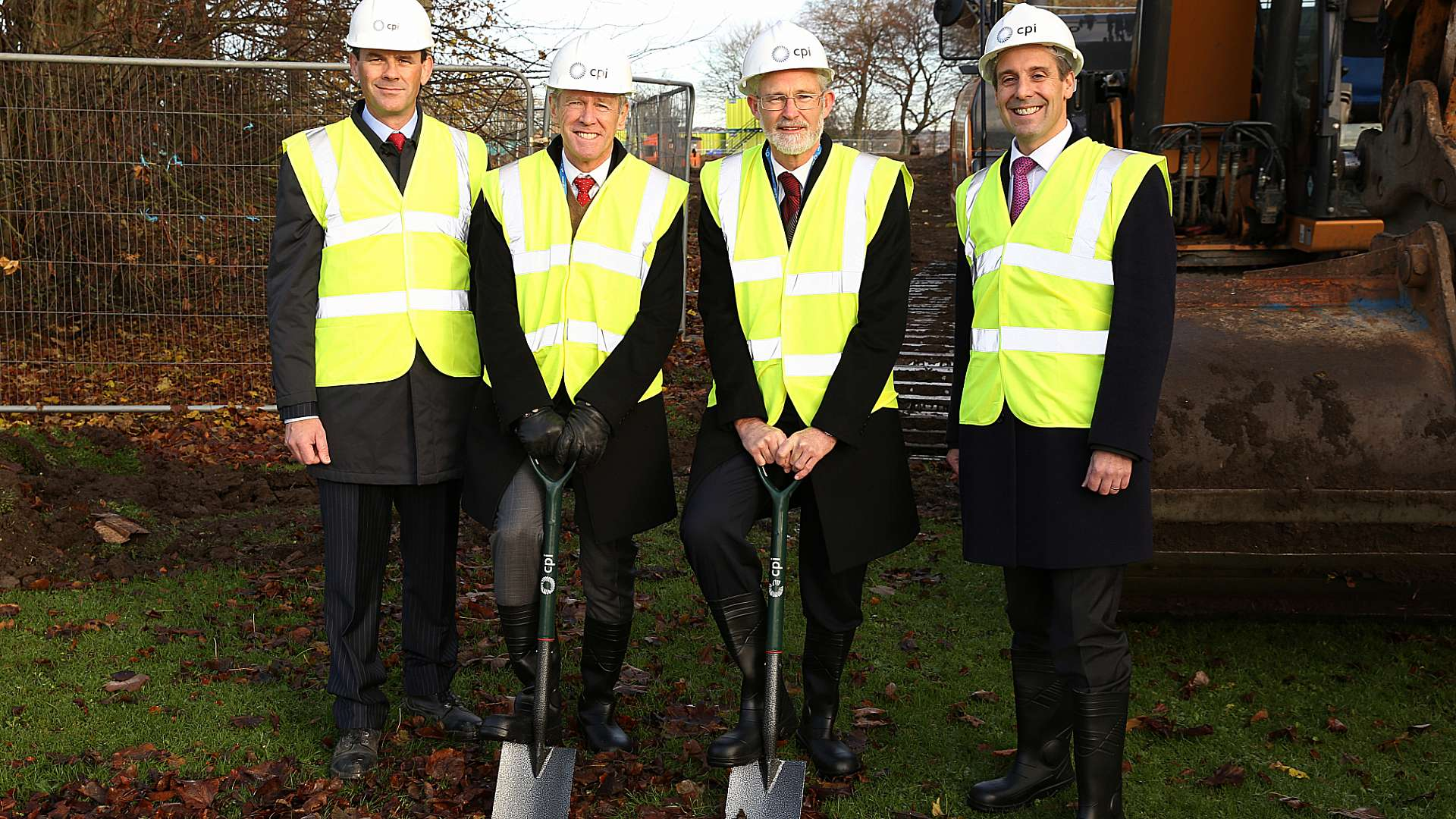 Breaking ground on the National Formulation Centre