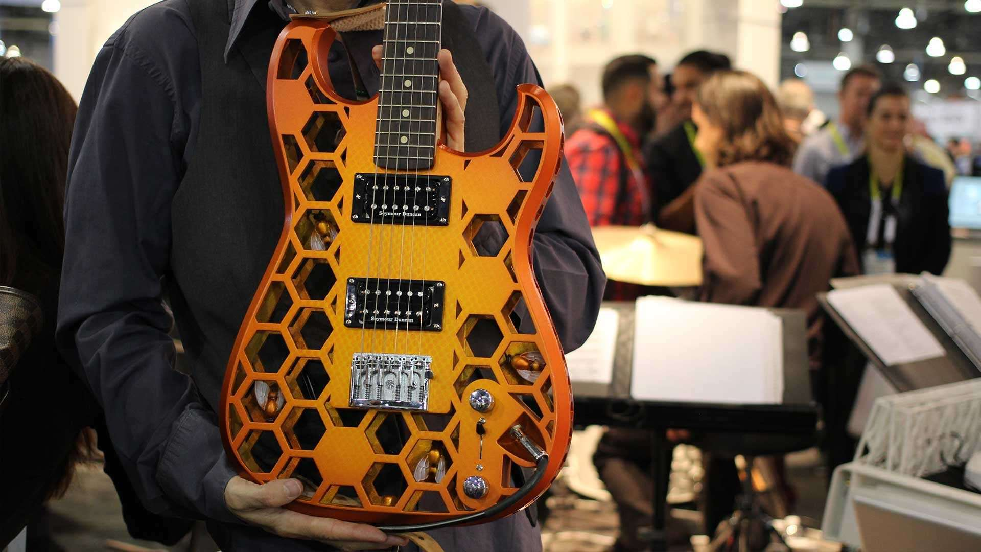 3D printing enables more complex products such as this printed bass