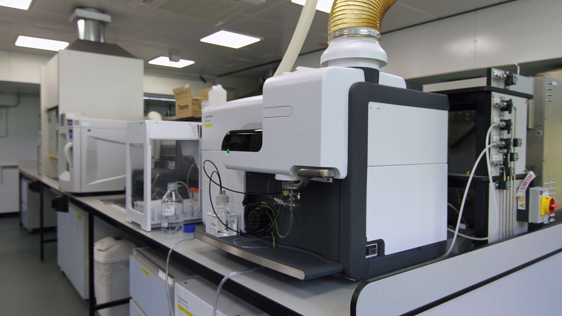 The Microwave Plasma Autonomic Emission Spectroscopy apparatus at CPI's facility at Wilton, Redcar