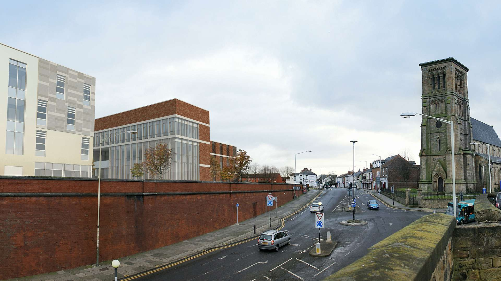 Architects render of the National Biologics Manufacturing Centre (South-West)